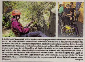WZ Nach dem 1. Schnupperklettern 07.2013