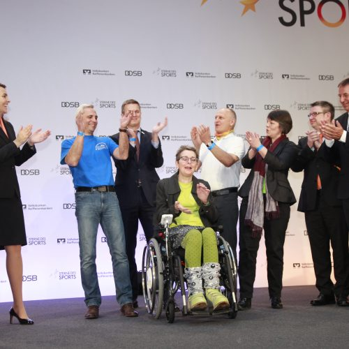 """Verleihung der Goldenen """"Sterne des Sports"""" 2017   am 24.01.2018 in der DZ Bank in Berlin"""